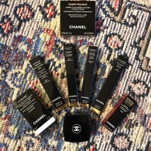Chanel Boxes and Keepsake Pouch